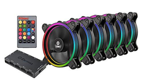 Pack de 6 Ventilateur pour PC Enermax T.B.RGB (UCTBRGB12-BP6)