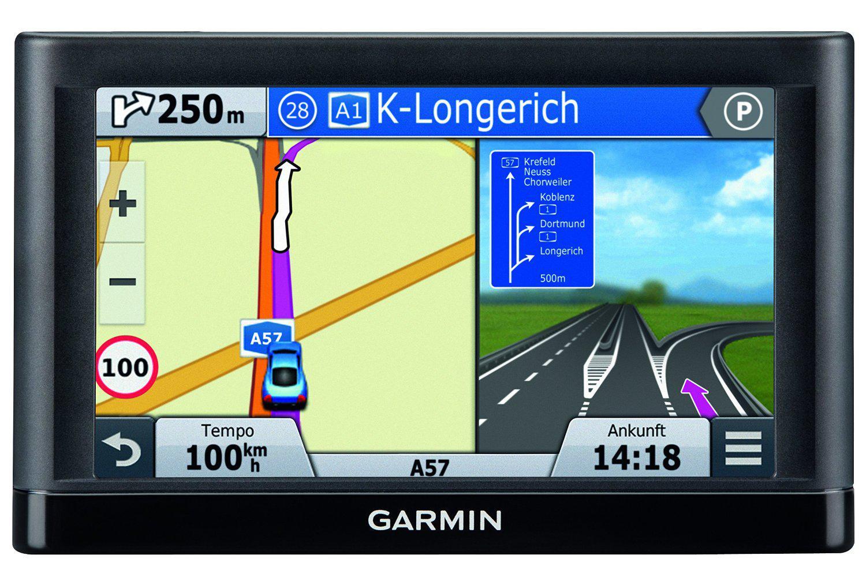 """GPS 5"""" Garmin nüvi 55 LMT CE - Info Trafic et carte (22 pays) gratuits à vie"""