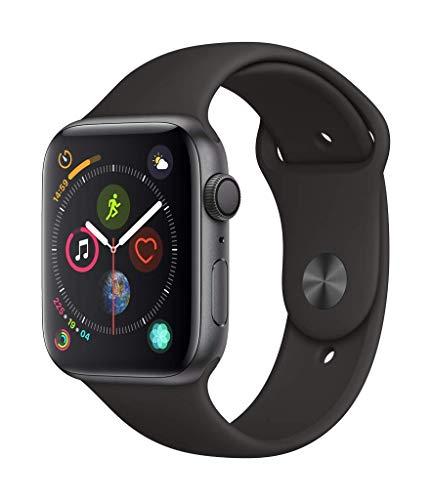 Montre connectée Apple Watch Series 4 - GPS, 44 mm, Bracelet Sport Noir