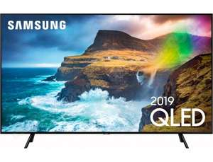 "TV QLED 55"" Samsung QE55Q70R 2019 - UHD 4K, HDR, VRR FreeSync, 10bit/100Hz, Full LED Local Dimming, 1000nits, Input Lag 15ms (Via ODR 300€)"