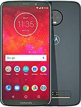 """Smartphone 6"""" Motorola Moto Z3 Play - 64 Go, RAM 4Go, Bleu (csmobiles.com)"""