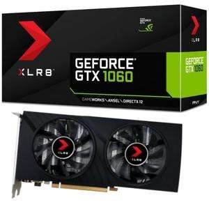 Carte graphique PNY GeForce GTX 1060 XLR8 Gaming OC - 6 Go