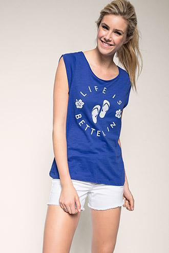 Jusqu'à 70% de réduction sur une sélection d'articles - Ex : T-shirt femme 100 % coton