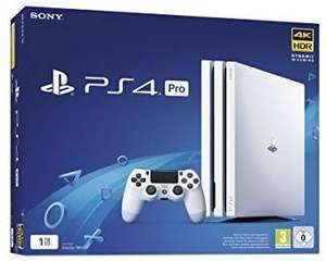 Console Sony PS4 Pro - 1 To, Blanche