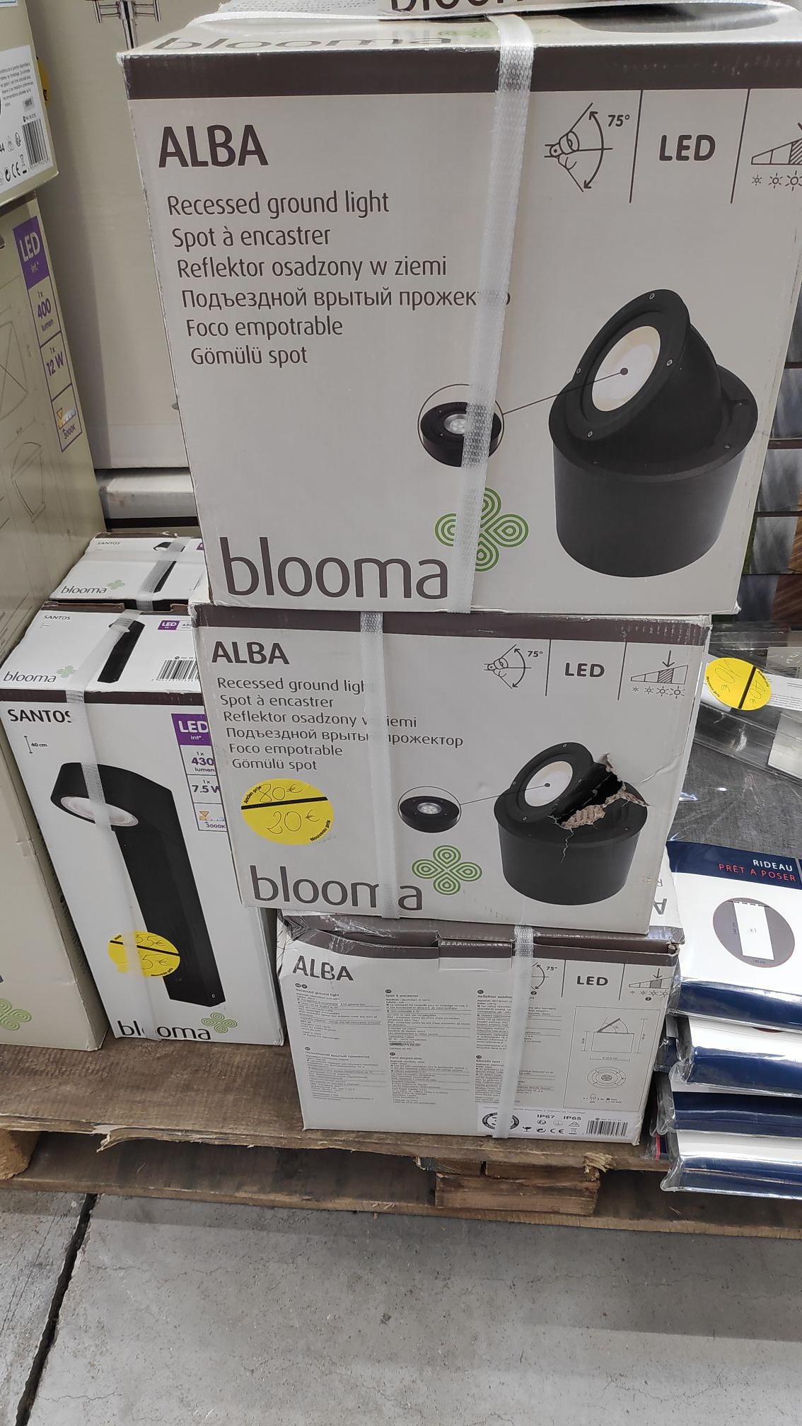 Sélection d'éclairage LED extérieurs Blooma - Villiers-sur-Marne (94)