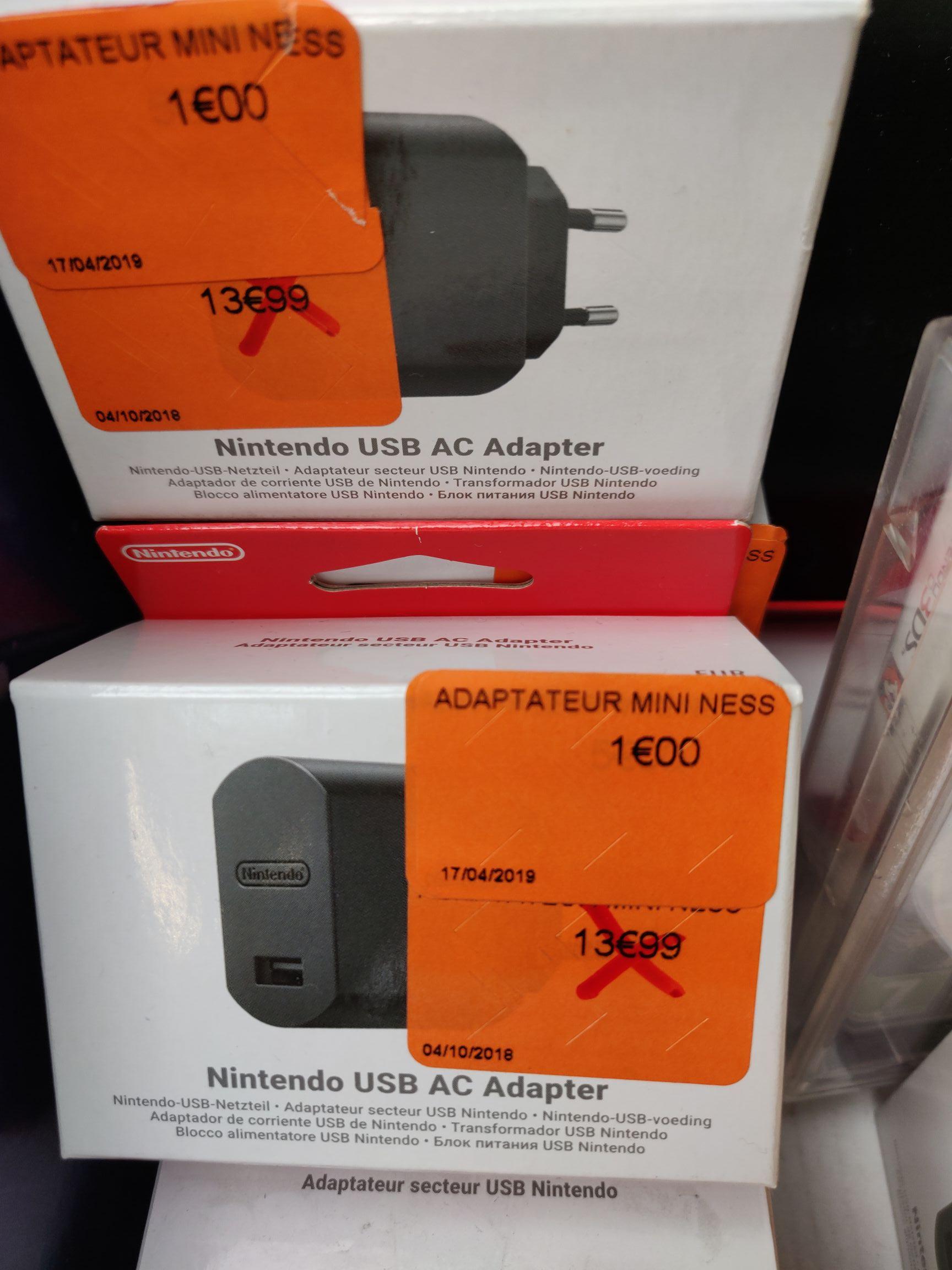 Adaptateur secteur USB Nintendo -  Lempdes (63)