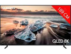 "TV 75"" Samsung QE75Q900R - 8K, QLED, Smart TV (Via ODR de 1000€)"