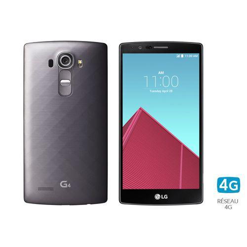"""Smartphone 5.5"""" LG G4 32 Go - Titane (ODR de 50€)"""