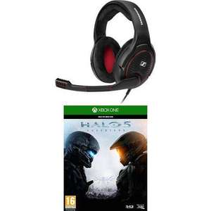 Micro-Casque Gaming Sennheiser G4ME One Noir + Halo 5 : Guardians sur Xbox One