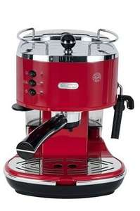 Machine à expresso Delonghi ECO311R Icona - 15 Bars, Rouge