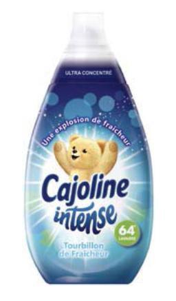 Assouplissant ultra concentré Cajoline Intense (960 ml)