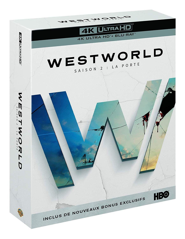 Blu-Ray 4K Westworld Saison 2