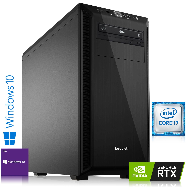 Tour PC Fixe Gaming - i7-8700, RAM 16Go, 2To + SSD 240Go + RTX 2070, Sans os.