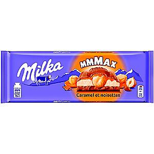 Tablette de Chocolat Milka Mmmax (Variétés au choix) - 300g (Via BDR)
