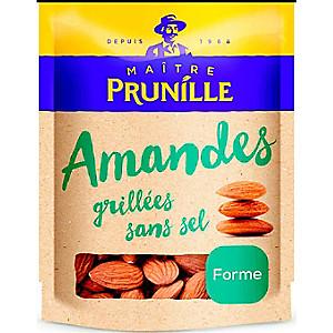 Amandes Grillées sans sel Maître Prunille - 400g