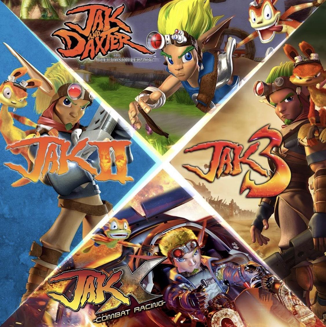 Jeu The Jak and Daxter Collection sur PS4 (Dématérialisé)
