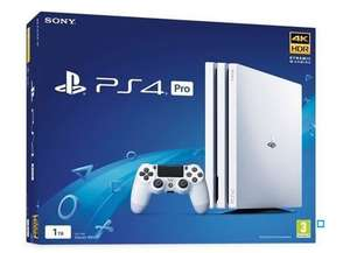 [Adhérents] Console Sony PS4 Pro 1 To - Blanc + 1 Manette + 60€ offerts sur le compte fidélité