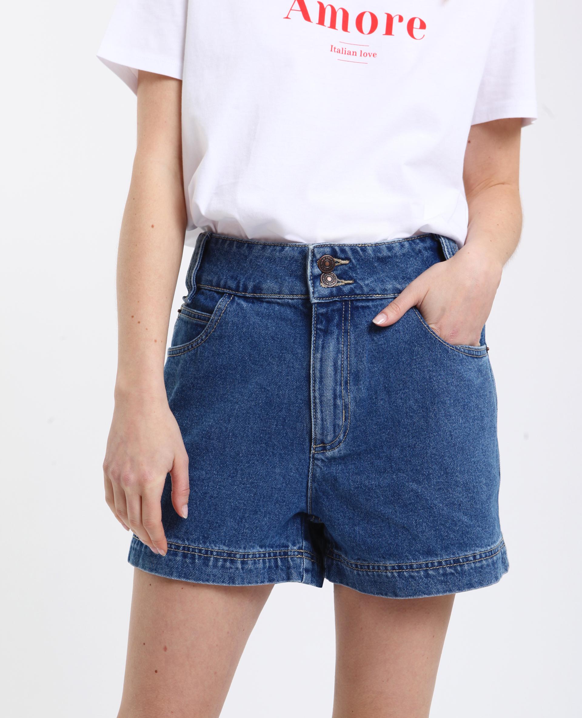 Jusqu'à 73% de réduction sur une sélection d'articles - Ex : Short en jean