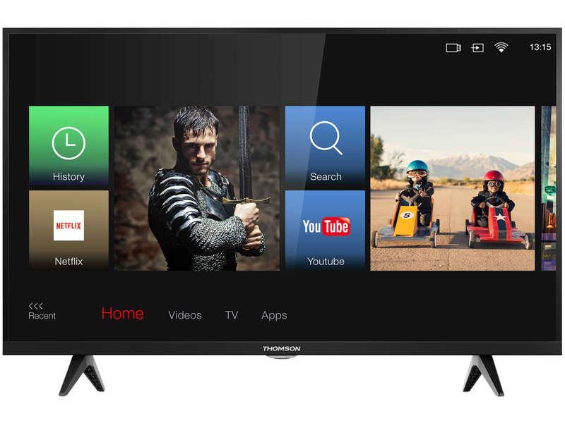 """[Carte Confo+] TV LED 32"""" Thomson 32HD5526 - Smart TV, WiFI (Via 99.99€ sur la Carte Fidélité)"""