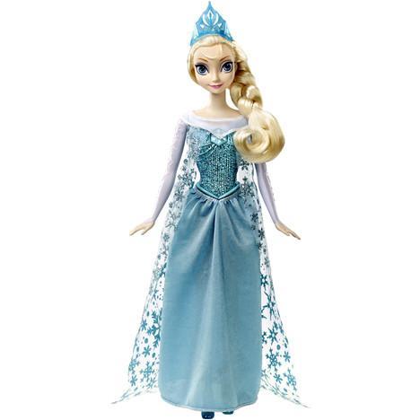 Poupée Elsa Chanteuse des neiges (via 5.60 remise fidélité)