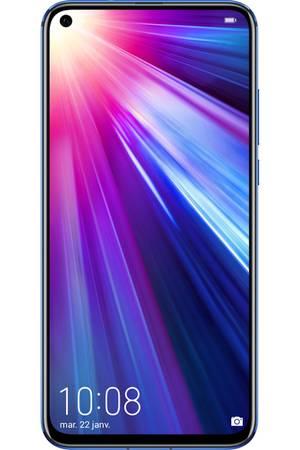 """Smartphone 6.4"""" Honor View 20 - 6 Go de RAM, 128 Go de ROM, Bleu saphir (+ 30€ en carte cadeau)"""