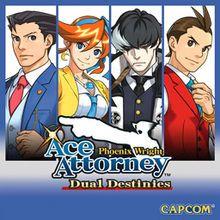 Ace Attorney : Dual Destinies sur Nintendo 3DS (Dématérialisé)