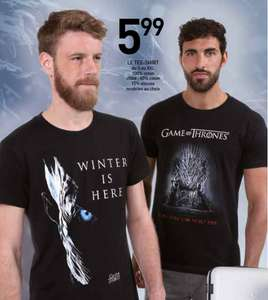 Tee-shirt Game of Thrones - 100% Coton, du S au XXL