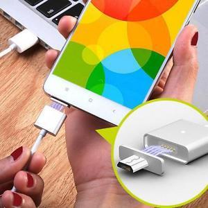 Câble universel WSKEN + 2 embouts magnétique - micro USB 2.4A