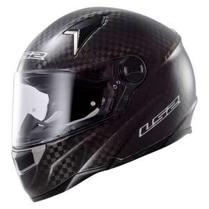 Casque intégral LS2 FF396.6 CR1 Single Mono - Carbone