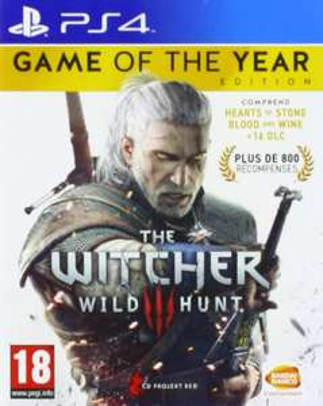 The Witcher 3: Wild Hunt - Édition GOTY sur PS4 - en Anglais (+ 0.89€ en SuperPoints)