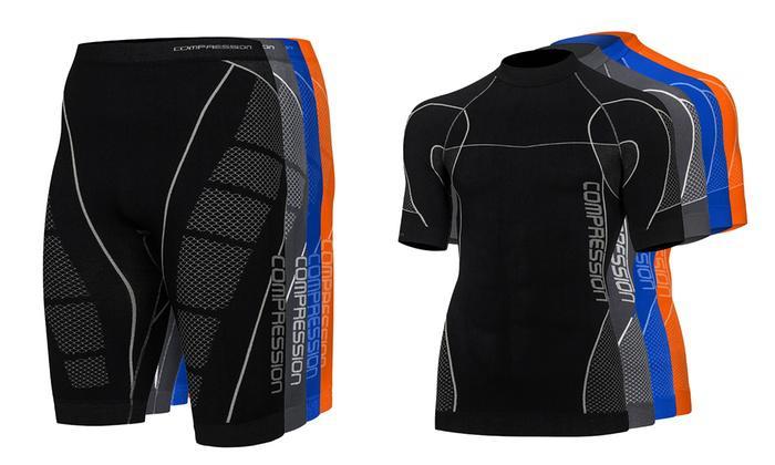 Short et T-shirt de compression Homme/Femme