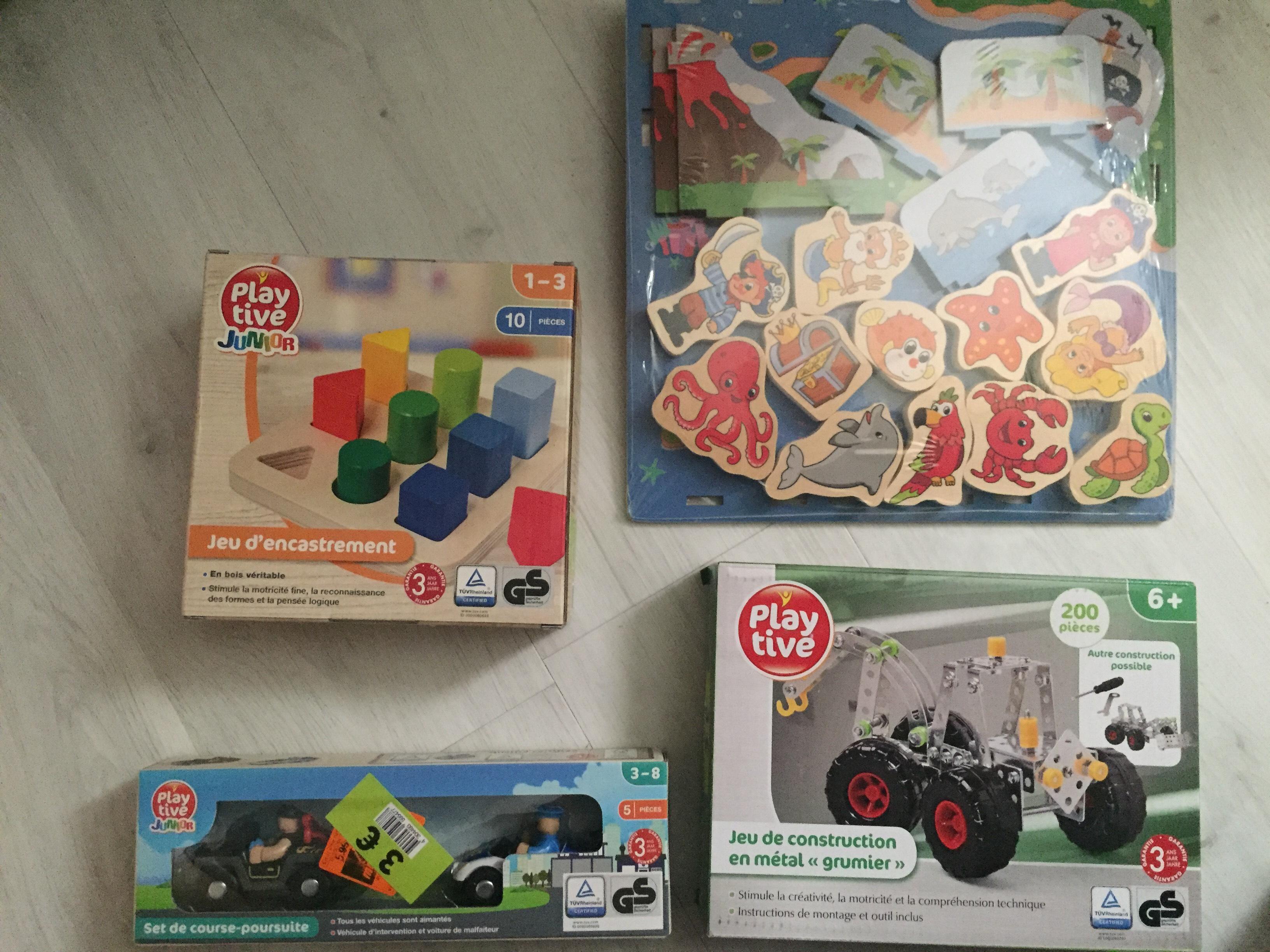 Sélection de Puzzles, Jeux de constructions, Jeux d'encastrements à 3€ -  Gravigny 27