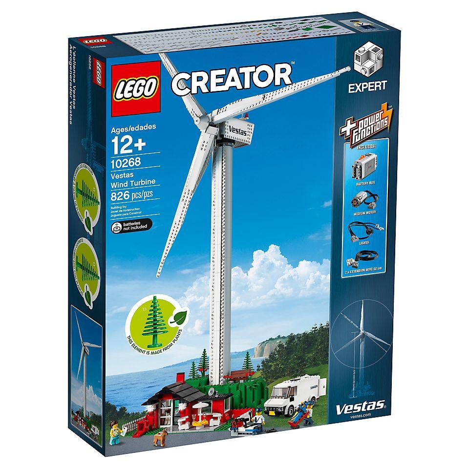 Jouet Lego Creator Expert L'éolienne Vestas (10268)
