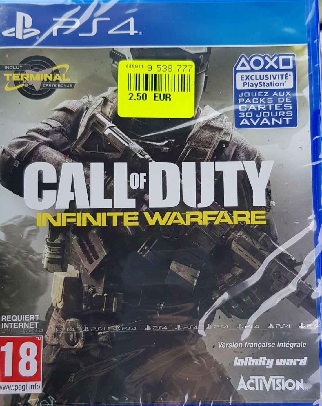 Call of Duty  Infinite Warfare sur PS4 ou Xbox One