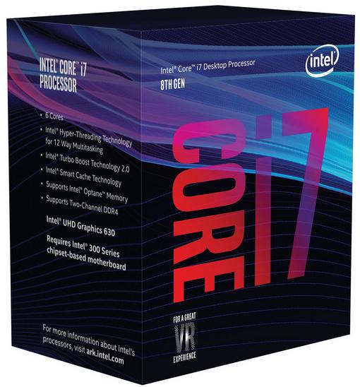 Processeur Intel Core i7-8700 Coffee Lake - 3.20GHz