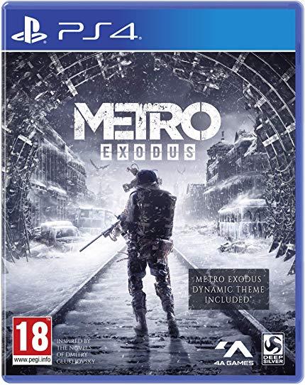 Métro Exodus sur Xbox One ou PS4 + Spartan Survival Guide