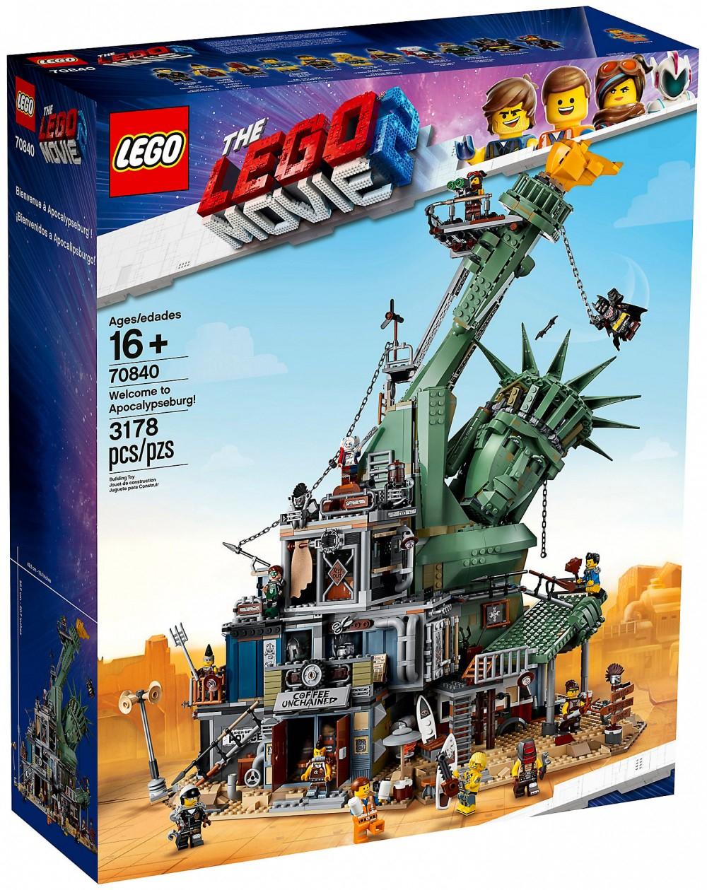 Jouet Lego The Lego Movie 2 Bienvenue à Apocalypseville - 70840