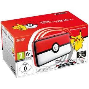 Console Nintendo New 2DS XL Pokéball Édition (Frontaliers Suisse)