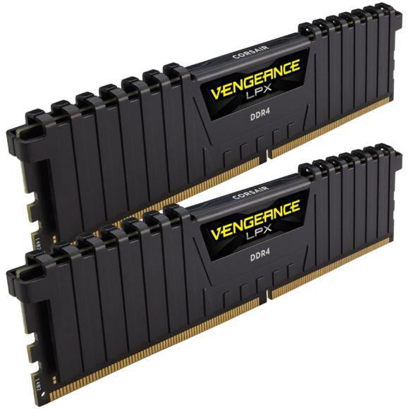 Kit mémoire RAM Corsair Vengeance LPX - 16 Go (2x8 Go), DDR4, 3000MHz, C16, XMP