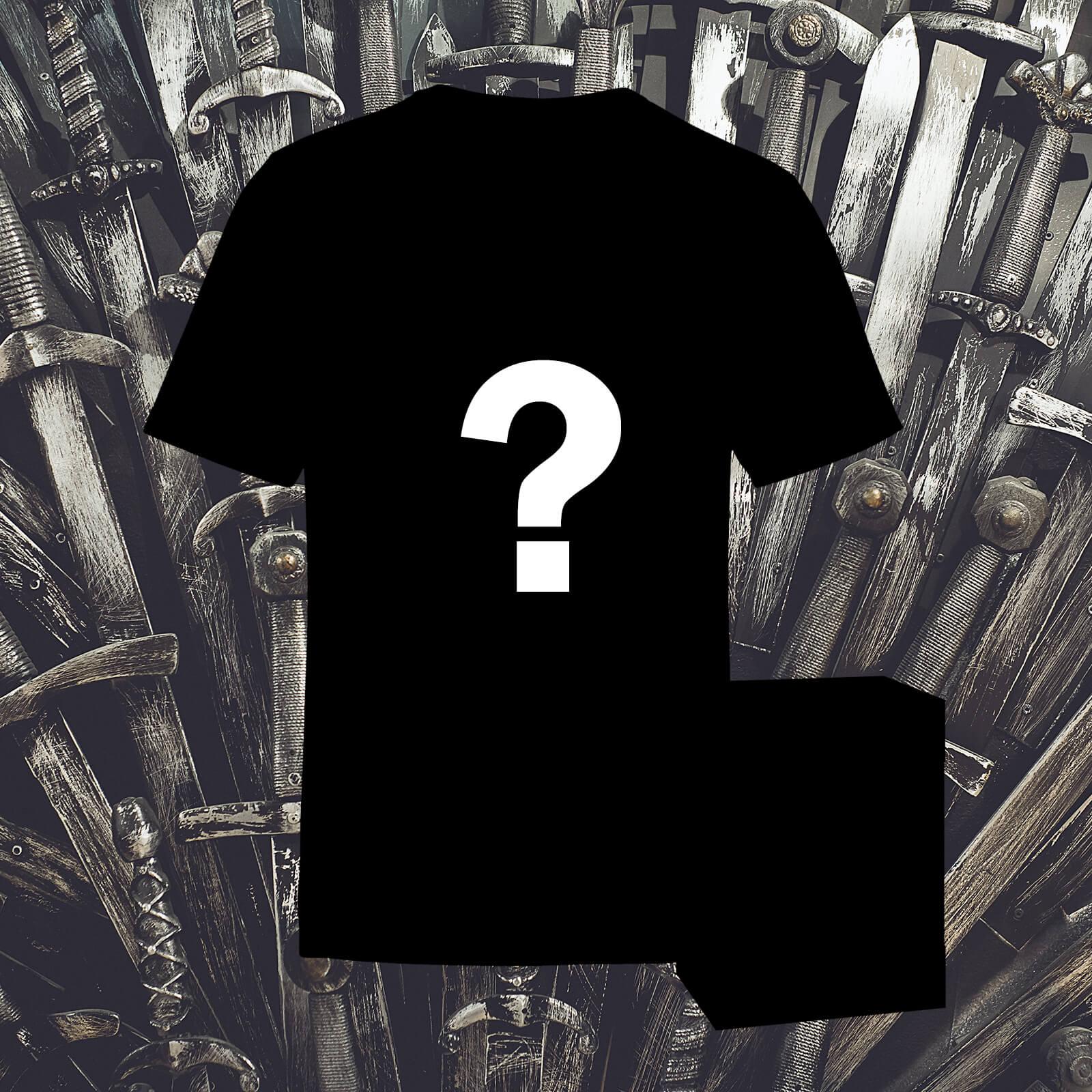[Spoiler GoT] Tee-shirt Femme ou Homme (du XS au XXL) + figurine Funko Pop! du vainqueur de la série Game of Thrones