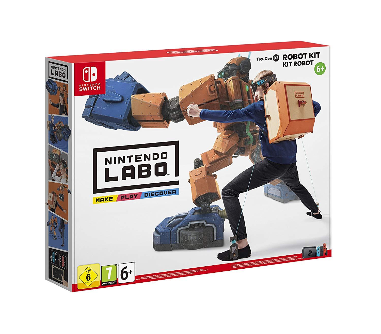 Kit Nintendo Labo: Kit Robot pour Nintendo Switch