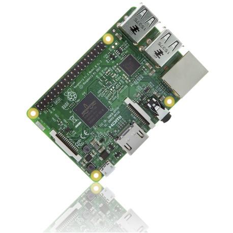 Mini-PC Raspberry Pi 3 (modèle B) - 1.2 GHz, 1 Go