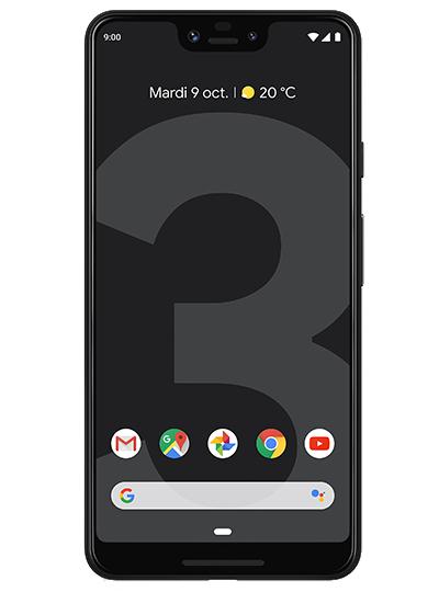 "Smartphone 6.3"" Google Pixel 3 XL - (64Go, Noir)"