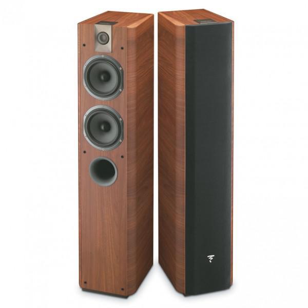 Paire d'enceintes colonne Focal Chorus 714 Rosewood + Amplificateur Casque M-Audio RMD Basstraveler