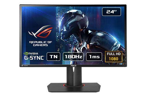 "Ecran PC 24"" Asus ROG Swift PG248Q - Full HD, Dalle TN, 180Hz, 1ms"