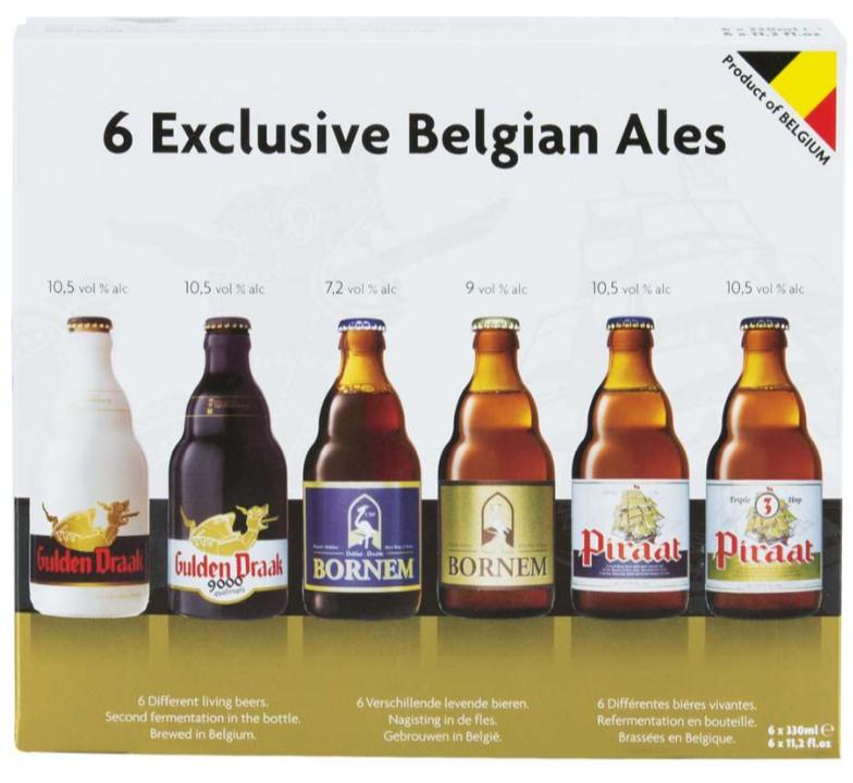 Sélection de bières en promotion - Ex: Assortiment de 6 bières belges exclusives