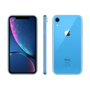 "Smartphone 6.1"" Apple iPhone XR - 64 Go, Bleu (+ 34.95€ en SuperPoints) - Vendeur Boulanger"