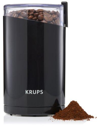 Moulin à Café électrique Krups F2034210  Fast Touch  - 200W, Noir
