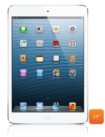 Tablette Apple iPad Mini 64 Go Wifi + 3G (avec forfait sans engagment) - Blanc et Argent