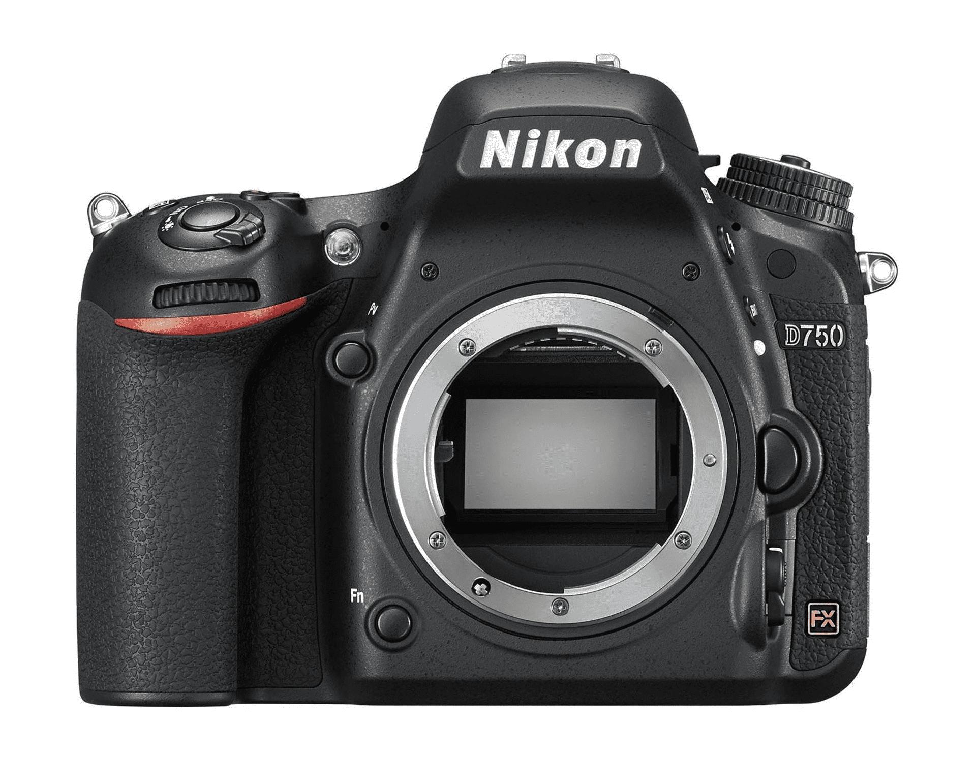 Appareil photo reflex Nikon D750 - Wi-Fi, Full Frame, 24.3 Mpx (Boitier nu)